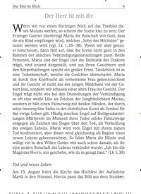 Titelbild der Ausgabe 8/2018 von Das Bild im Blick:Der Herr ist mit dir. Zeitschriften als Abo oder epaper bei United Kiosk online kaufen.