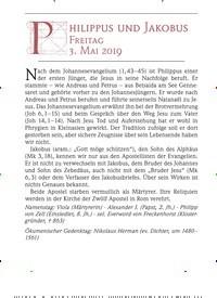 Titelbild der Ausgabe 5/2019 von PHILIPPUS UND JAKOBUS FREITAG. Zeitschriften als Abo oder epaper bei United Kiosk online kaufen.