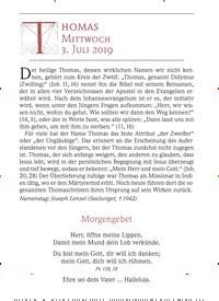 Titelbild der Ausgabe 7/2019 von Thomas Mittwoch. Zeitschriften als Abo oder epaper bei United Kiosk online kaufen.