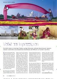 Titelbild der Ausgabe 3/2019 von INDIEN: Vielfalt der ImpressionenFotos:. Zeitschriften als Abo oder epaper bei United Kiosk online kaufen.