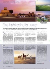 Titelbild der Ausgabe 3/2019 von ARABISCHE HALBINSEL: Eine Halbinsel voller Luxus. Zeitschriften als Abo oder epaper bei United Kiosk online kaufen.