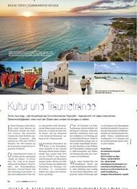 Titelbild der Ausgabe 3/2019 von DOMINIKANISCHE REPUBLIK: Kultur und Traumstrände. Zeitschriften als Abo oder epaper bei United Kiosk online kaufen.