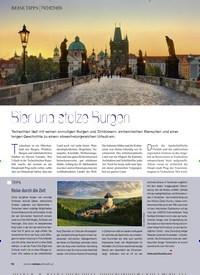 Titelbild der Ausgabe 2/2020 von TSCHECHIEN: Bier und stolze Burgen. Zeitschriften als Abo oder epaper bei United Kiosk online kaufen.