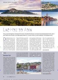Titelbild der Ausgabe 2/2020 von Das Herz der Adria. Zeitschriften als Abo oder epaper bei United Kiosk online kaufen.