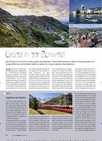 Titelbild der Ausgabe 2/2020 von Grüezi in der Schweiz!. Zeitschriften als Abo oder epaper bei United Kiosk online kaufen.