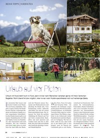 Titelbild der Ausgabe 2/2020 von Urlaub auf vier Pfoten. Zeitschriften als Abo oder epaper bei United Kiosk online kaufen.