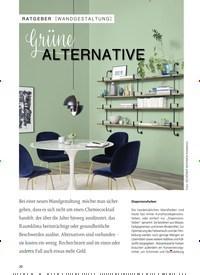 Titelbild der Ausgabe 1/2019 von [WANDGESTALTUNG]: grüne ALTERNATIVE. Zeitschriften als Abo oder epaper bei United Kiosk online kaufen.