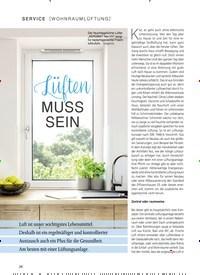 Titelbild der Ausgabe 1/2019 von [WOHNRAUMLÜFTUNG]: Lüften MUSS SEIN. Zeitschriften als Abo oder epaper bei United Kiosk online kaufen.