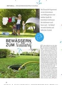Titelbild der Ausgabe 1/2019 von [REGENWASSERNUTZUNG]: BEWÄSSERN ZUM Nulltarif. Zeitschriften als Abo oder epaper bei United Kiosk online kaufen.