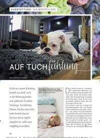 Titelbild der Ausgabe 1/2019 von [HEIMTEXTILIEN]: AUF TUCHfühlung. Zeitschriften als Abo oder epaper bei United Kiosk online kaufen.