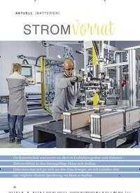 Titelbild der Ausgabe 2/2019 von BATTERIEN: STROM vorrat. Zeitschriften als Abo oder epaper bei United Kiosk online kaufen.