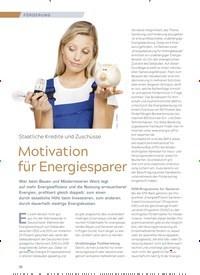 Titelbild der Ausgabe 3/2018 von Staatliche Kredite und Zuschüsse: Motivation für Energiesparer. Zeitschriften als Abo oder epaper bei United Kiosk online kaufen.