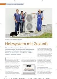Titelbild der Ausgabe 3/2018 von Elektro-Wärmepumpen: Heizsystem mit Zukunft. Zeitschriften als Abo oder epaper bei United Kiosk online kaufen.