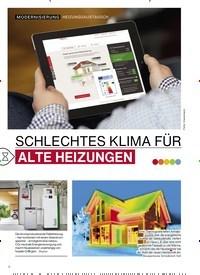 Titelbild der Ausgabe 3/2019 von SCHLECHTES KLIMA FÜR ALTE HEIZUNGEN. Zeitschriften als Abo oder epaper bei United Kiosk online kaufen.