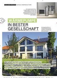 Titelbild der Ausgabe 3/2019 von WÄRMEPUMPE IN BESTER GESELLSCHAFT. Zeitschriften als Abo oder epaper bei United Kiosk online kaufen.