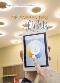 Titelbild der Ausgabe 2/2019 von KÜNSTLICHES LICHT: DIE FARBEN DES Lichts. Zeitschriften als Abo oder epaper bei United Kiosk online kaufen.