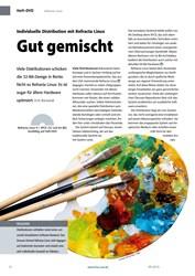 Titelbild der Ausgabe 9/2019 von Refracta Linux: Individuelle Distribution mit Refracta Linux: Gut gemischt. Zeitschriften als Abo oder epaper bei United Kiosk online kaufen.