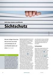 Titelbild der Ausgabe 10/2019 von Arch-Linux-System verschlüsseln: Sichtschutz. Zeitschriften als Abo oder epaper bei United Kiosk online kaufen.