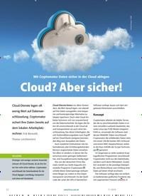 Titelbild der Ausgabe 11/2019 von Mit Cryptomator Daten sicher in der Cloud ablegen Cloud? Aber sicher!. Zeitschriften als Abo oder epaper bei United Kiosk online kaufen.
