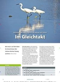 Titelbild der Ausgabe 11/2019 von Automatischer Datenabgleich via Internet mit Unison Im Gleichtakt. Zeitschriften als Abo oder epaper bei United Kiosk online kaufen.