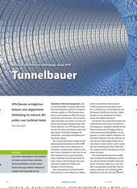 Titelbild der Ausgabe 11/2019 von Anonym im Internet unterwegs dank VPN Tunnelbauer. Zeitschriften als Abo oder epaper bei United Kiosk online kaufen.
