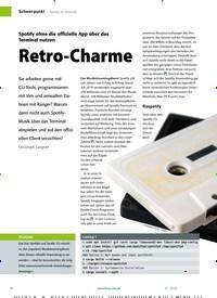 Titelbild der Ausgabe 1/2020 von Retro-Charme. Zeitschriften als Abo oder epaper bei United Kiosk online kaufen.
