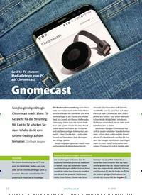 Titelbild der Ausgabe 1/2020 von Gnomecast. Zeitschriften als Abo oder epaper bei United Kiosk online kaufen.