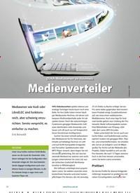 Titelbild der Ausgabe 1/2020 von DLNA-Mediaserver im Heimnetz: Medienverteiler. Zeitschriften als Abo oder epaper bei United Kiosk online kaufen.