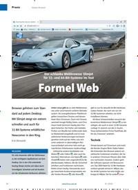 Titelbild der Ausgabe 1/2020 von Formel Web. Zeitschriften als Abo oder epaper bei United Kiosk online kaufen.