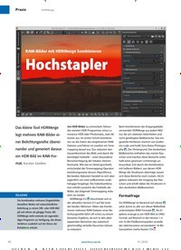Titelbild der Ausgabe 1/2020 von Hochstapler. Zeitschriften als Abo oder epaper bei United Kiosk online kaufen.