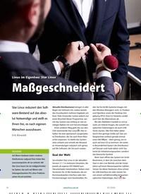 Titelbild der Ausgabe 3/2020 von Linux im Eigenbau: Star Linux: Maßgeschneidert. Zeitschriften als Abo oder epaper bei United Kiosk online kaufen.