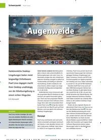 Titelbild der Ausgabe 3/2020 von Ubuntu-Derivat Pearl Linux mit ergonomischer Oberfläche:Augenweide. Zeitschriften als Abo oder epaper bei United Kiosk online kaufen.