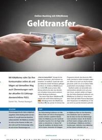 Titelbild der Ausgabe 3/2020 von Online-Banking mit KMyMoney: Geldtransfer. Zeitschriften als Abo oder epaper bei United Kiosk online kaufen.