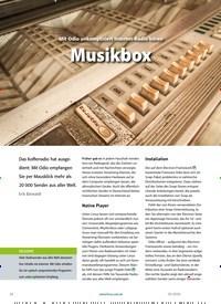 Titelbild der Ausgabe 4/2020 von Odio: Musikbox. Zeitschriften als Abo oder epaper bei United Kiosk online kaufen.