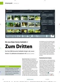 Titelbild der Ausgabe 4/2020 von Darktable 3.0: Zum Dritten. Zeitschriften als Abo oder epaper bei United Kiosk online kaufen.