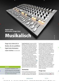Titelbild der Ausgabe 4/2020 von Virage Linux: Musikalisch. Zeitschriften als Abo oder epaper bei United Kiosk online kaufen.