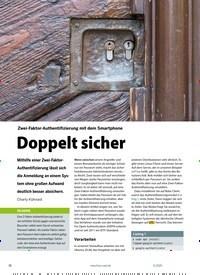 Titelbild der Ausgabe 11/2020 von Doppelt sicher. Zeitschriften als Abo oder epaper bei United Kiosk online kaufen.