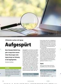 Titelbild der Ausgabe 1/2021 von Ugrep: Effizienter suchen mit Ugrep: Aufgespürt. Zeitschriften als Abo oder epaper bei United Kiosk online kaufen.