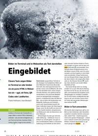 Titelbild der Ausgabe 1/2021 von Aalib/ Libcaca: Bilder im Terminal und in Webseiten als Text darstellen: Eingebildet. Zeitschriften als Abo oder epaper bei United Kiosk online kaufen.
