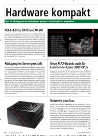 Titelbild der Ausgabe 9/2019 von Hardware kompakt. Zeitschriften als Abo oder epaper bei United Kiosk online kaufen.