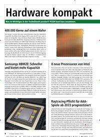 Titelbild der Ausgabe 10/2019 von Hardware kompakt. Zeitschriften als Abo oder epaper bei United Kiosk online kaufen.