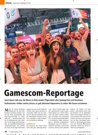 Titelbild der Ausgabe 10/2019 von Gamescom-Highlights 2019: Gamescom-Reportage. Zeitschriften als Abo oder epaper bei United Kiosk online kaufen.