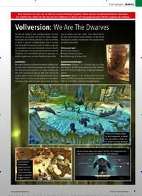 Titelbild der Ausgabe 11/2019 von DVD-Highlights: Vollversion: We Are The Dwarves. Zeitschriften als Abo oder epaper bei United Kiosk online kaufen.