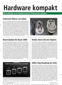 Titelbild der Ausgabe 11/2019 von Hardware kompakt: Hardware kompakt. Zeitschriften als Abo oder epaper bei United Kiosk online kaufen.