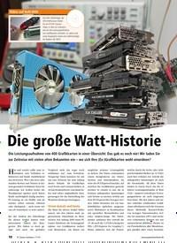 Titelbild der Ausgabe 11/2019 von Die große Watt-Historie. Zeitschriften als Abo oder epaper bei United Kiosk online kaufen.