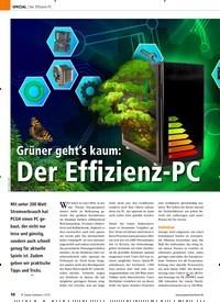 Titelbild der Ausgabe 12/2019 von Der Effizienz-PC Grüner geht's kaum: Der Effizienz-PC. Zeitschriften als Abo oder epaper bei United Kiosk online kaufen.