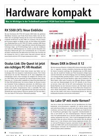 Titelbild der Ausgabe 1/2020 von Hardware kompakt. Zeitschriften als Abo oder epaper bei United Kiosk online kaufen.