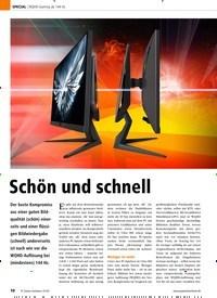 Titelbild der Ausgabe 1/2020 von WQHD-Gaming ab 144 Hz: Schön und schnell. Zeitschriften als Abo oder epaper bei United Kiosk online kaufen.