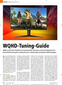 Titelbild der Ausgabe 1/2020 von WQHD-Gaming ab 144 Hz: WQHD-Tuning-Guide. Zeitschriften als Abo oder epaper bei United Kiosk online kaufen.