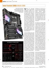 Titelbild der Ausgabe 2/2020 von Intel Sockel 2066: Bleibt 2066. Zeitschriften als Abo oder epaper bei United Kiosk online kaufen.